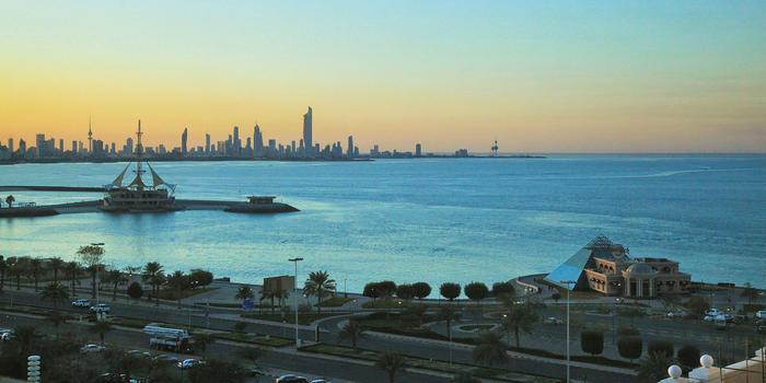 Kuwait City from Salmiya