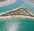 Artificial islets and canals at Sabah Al-Ahmad Sea City